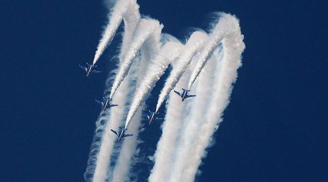 新田原航空祭 ブルーインパルス